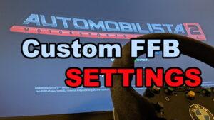 Automobilista2に「Custom Force Feedback」を導入する方法